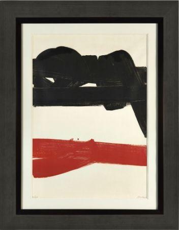 Litografia Soulages - Lithographie 27,