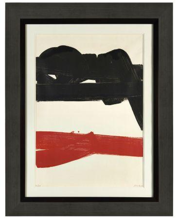 Litografia Soulages - Lithographie 27 - 1969