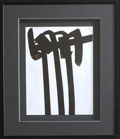 Litografia Soulages - Lithographie 28