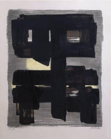 Litografia Soulages - Lithographie n°1