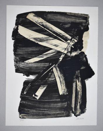 Litografia Soulages - Lithographie n°10