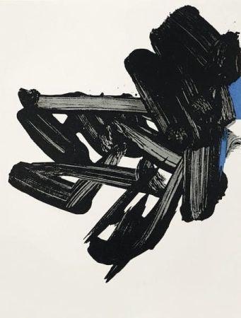 Litografia Soulages - Lithographie n°17