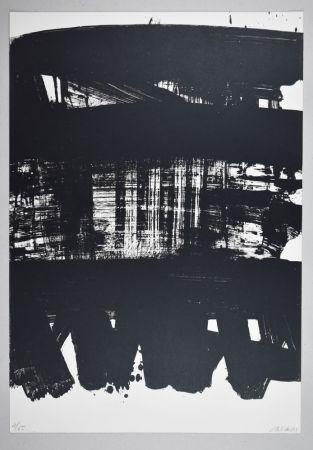 Litografia Soulages - Lithographie n°21