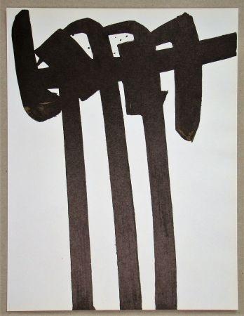 Litografia Soulages - Lithographie N°28