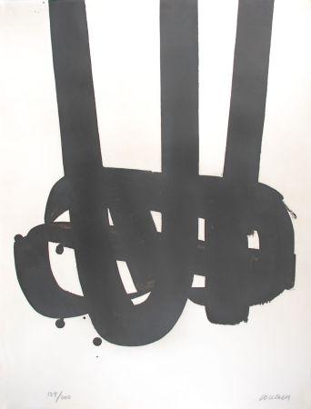Litografia Soulages - Lithographie n°29