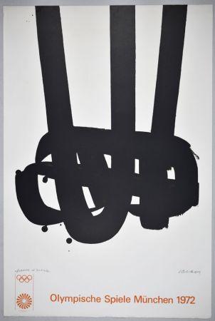 Litografia Soulages - Lithographie n°29 JO