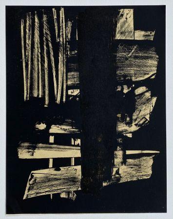 Litografia Soulages - Lithographie n°9