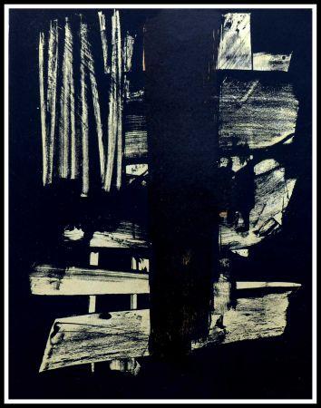 Non Tecnico Soulages - Lithographie N°9