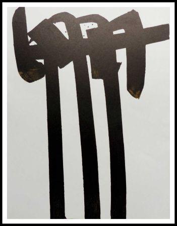 Litografia Soulages - LITHOGRAPHIE N° 28