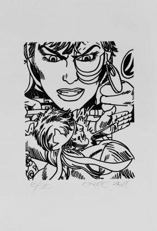 Litografia Erro - Lithographie Originale / Original Lithograph
