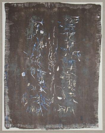 Litografia Zao - Lithographie originale pour XXe Siècle
