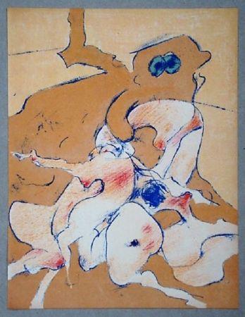Litografia Tanning - Lithographie originale pour XXe Siècle