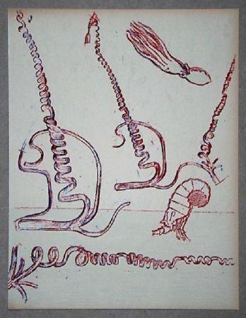 Litografia Ernst - Lithographie Originale Pour Xxe Siècle