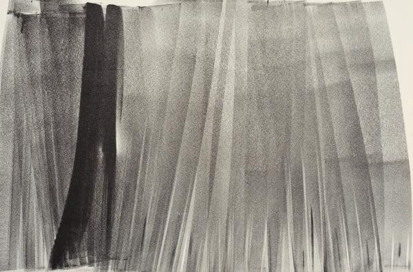 Litografia Hartung - Lithographie originale. Signée.