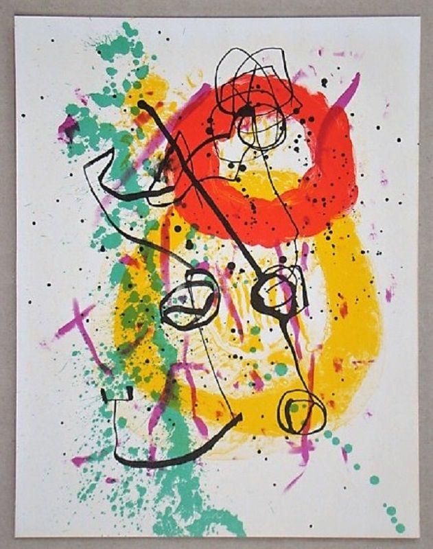 Litografia Miró - Lithographie pour XXe Siècle