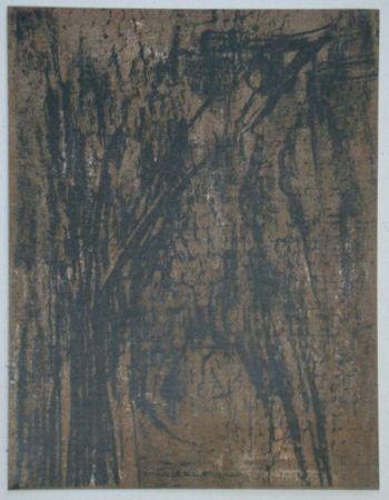Litografia Vieira Da Silva - Lithographie pour XXe Siècle, 1962