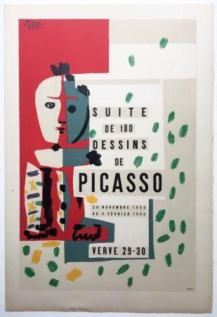 Litografia Picasso - LITHOGRAPHIE: SUITE DE 180 DESSINS. VALLAURIS VERVE 29-30. 1953-1954
