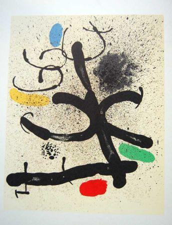 Litografia Miró - Litografia Original Derriere Le Miroir - 1971