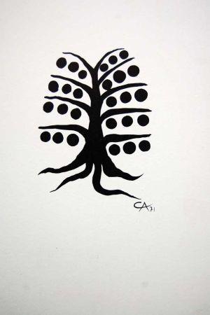 Litografia Calder - Litografia Original Derriere Le Miroir - 1971