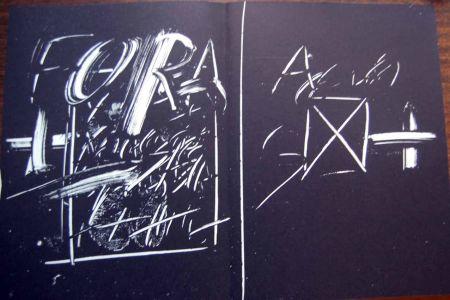 Litografia Tapies - Litografia Original Derriere Le Miroir - 1974