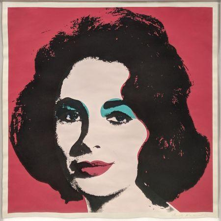 Litografia Warhol - LIZ FS II.7