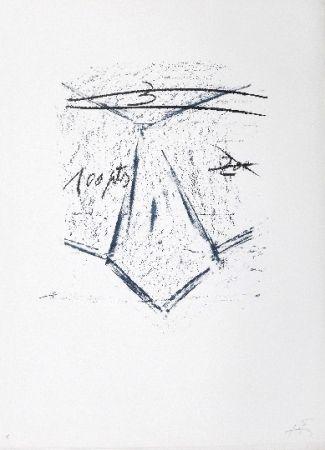 Litografia Tàpies - LLambrec 12