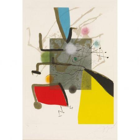 Incisione Miró - Llibre Del sis Sentits II