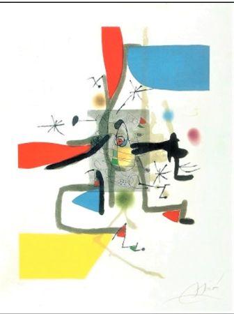 Acquaforte E Acquatinta Miró - Llibre Dels Sis Sentits I
