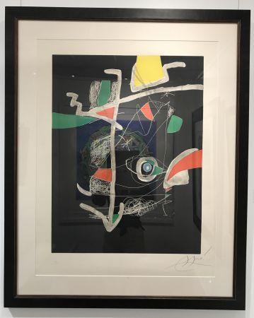 Acquaforte E Acquatinta Miró - L'Libre dels Sis Sentits VI (Book of the Six Senses)