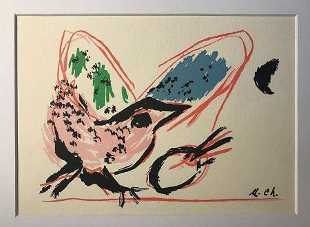 Litografia Chagall (After) - L'Oiseau