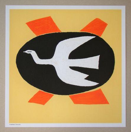 Litografia Braque (After) - L'oiseau de feu, 1958