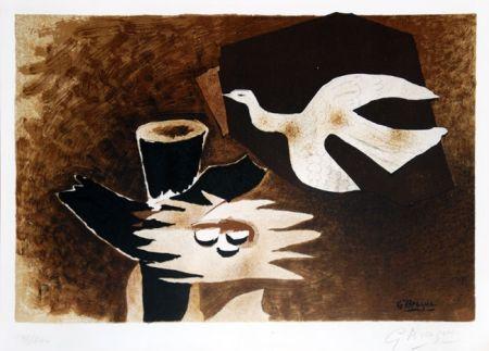 Litografia Braque - L'oiseau et son nid (The Bird and Its Nest)