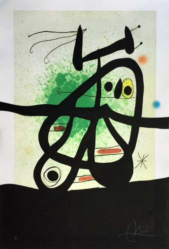 Non Tecnico Miró - L'Oiseau Mongol