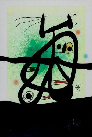 Acquaforte E Acquatinta Miró - L'Oiseau Mongol