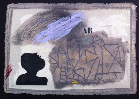 Incisione Coignard - L'ombre bleue