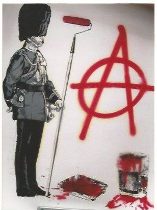 Serigrafia Mr. Brainwash - LONDON show Anarchy