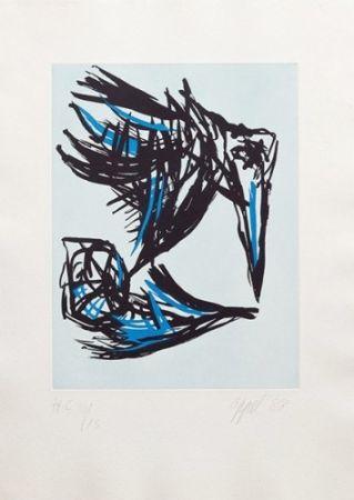 Acquatinta Appel - Los Pájaros