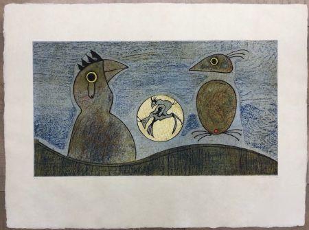 Acquaforte Ernst - Los Pájaros