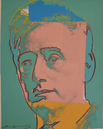 Serigrafia Warhol - Louis Brandeis (FS II.230) Trial Proof