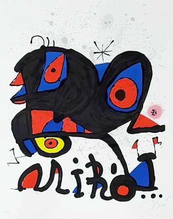 Litografia Miró - Louisiana