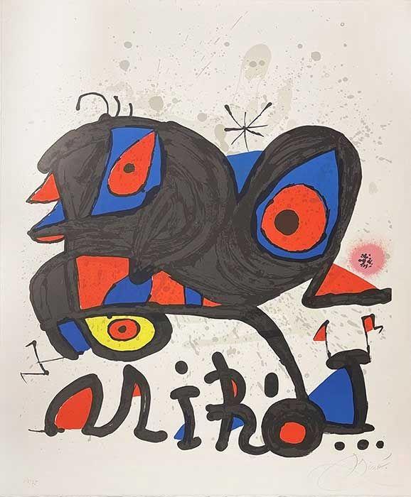 Litografia Miró - Louisiania