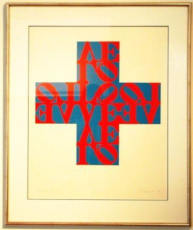Litografia Indiana - Love Cross
