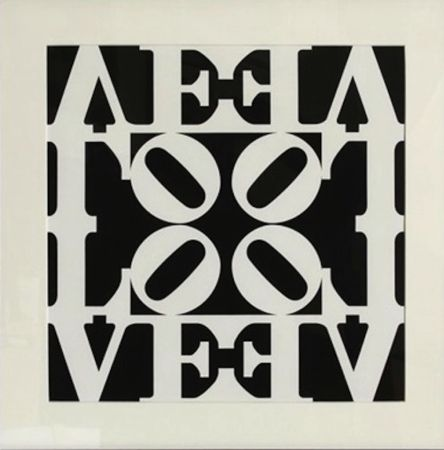 Serigrafia Indiana - Love, from Decade Portfolio