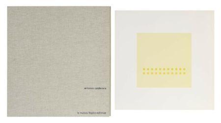 Serigrafia Calderara - Luce spazio immagine (Cartella di 8 serigrafie)