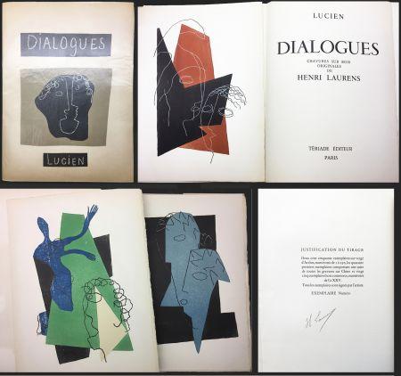 Libro Illustrato Laurens - Lucien de Samosate - DIALOGUES. 32 bois gravés en couleurs (Tériade 1951).