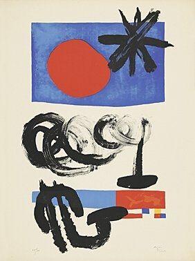 Litografia Miró -