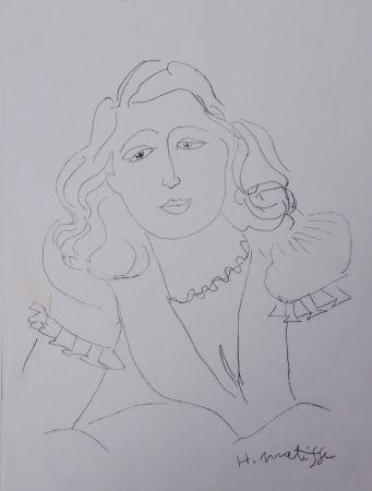 Incisione Matisse - Lydia