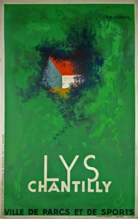 Litografia Cassandre - Lys Chantilly