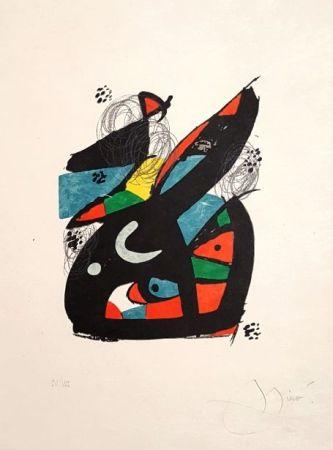 Litografia Miró - Mélodie Acide