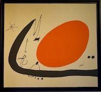 Litografia Miró - Ma de Proverbis